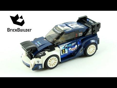 Vidéo LEGO Speed Champions 75885 : Ford Fiesta WRC M-Sport