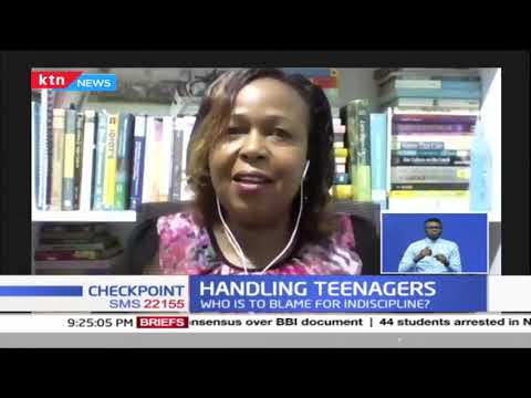 Handling teenagers: Who is to blame for the indiscipline?