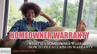 What Is A Homeowner Warranty?