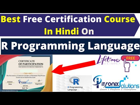 Best Free Certification Course On R Programming Language In ...