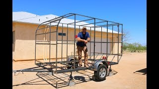 How to Build a DIY Travel Trailer -  The Frame  (part 1)