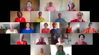 Vocal Fun zingt 'A song for change' vanuit haar kot