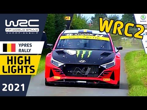 WRC2 2021 WRC第8戦 ラリー・ベルギー WRC2クラスのDay1ハイライト動画