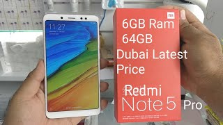 Hindi | Xiaomi Redmi Note 5 (Pro Chinese) 64GB 6GB Ram Unboxing. Available In Dubai