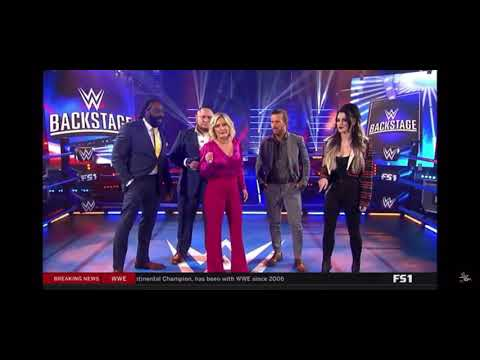 CM Punk Appears on WWE Backstage!! SAYS HE IS COMING BACK NEXT WEEK!
