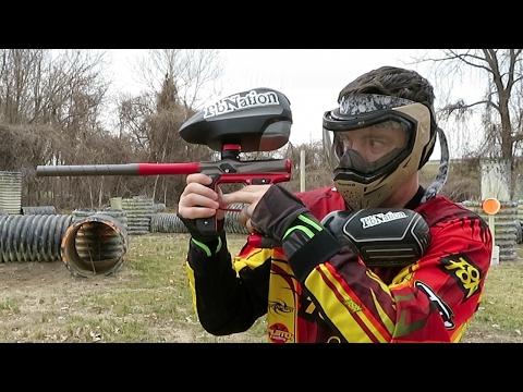 New Empire Axe 2.0 Paintball Gun – Shooting Video