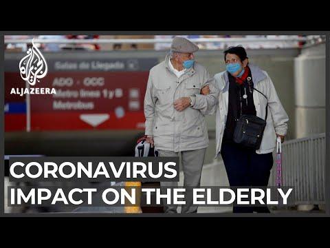Special coronavirus precautions taken to protect elderly
