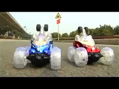 Amazon com  LIB101 Invincible Tornado   Remote Control Turbo Twister RC Stunt Car with Lights and So
