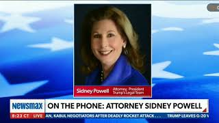 Former U.S. Federal Prosecutor - Sidney Powell On Organised Democrat Voter Fraud, Dominion Voting Sy