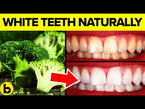 Eat These Foods for Pristine White Teeth