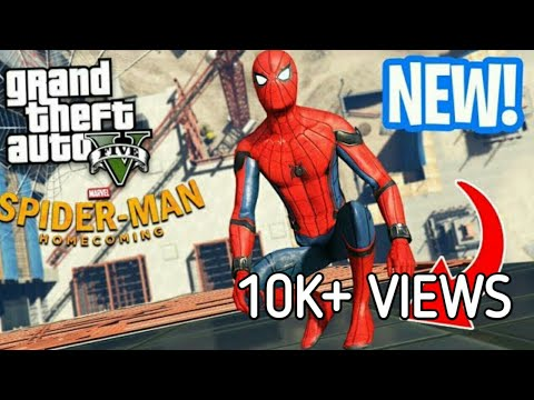 The Spider-Man mod by JulioNIB - Special attacks - GTA 5 PC - GTA X