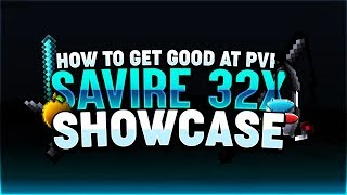 How to be a GOD at PvP in Minecraft + Savire [32x] Pack Showcase! 💎