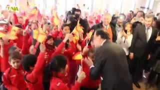 preview picture of video 'Rajoy visita l'escola espanyola d'Escaldes-Engordany'