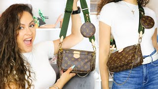 *OBSESSED!* Louis Vuitton Multi Pochette Accessoires First Impressions