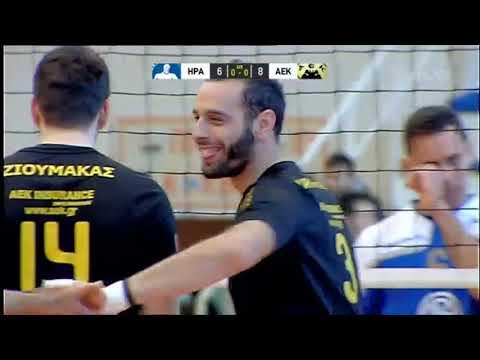 ΗΡΑΚΛΗΣ-ΑΕΚ 3-0 | VOLLEY LEAGUE | 16/2/2019 | ΕΡΤ