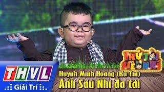 THVL   Thử tài siêu nhí - Tập 2: Anh Sáu Nhí đa tài - Huỳnh Minh Hoàng (Ku Tin)