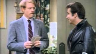 HAPPY DAYS (Season 11 Clip) - Richie Says Goodbye To Fonzie And The Cunninghams (1983)