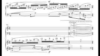 Anthony Cheung: Roundabouts, mvt. 2 (Reflexive Mirrors), with score