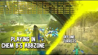 WE GOT INTO THEIR ABBZONE! PISTOLE vs CHEM B! ARK OFFICIAL PvP
