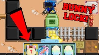GrowTopia - I GOT BUNNY LOCK from NEW EVENT?! (Easter Week Update 2018)