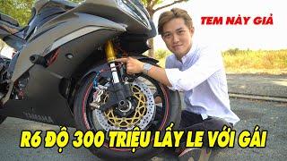 Siêu Phẩm Yamaha R6 độ hơn 300 Triệu đã đến với Na Vlogs