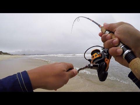 ULTRALIGHT Micro Surf Fishing Surprise!