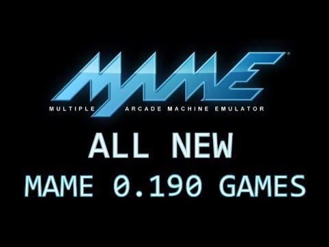 Oglądaj: All new MAME 0.190 games