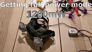 DJI Digital FPV system - Max Power to 1200mw