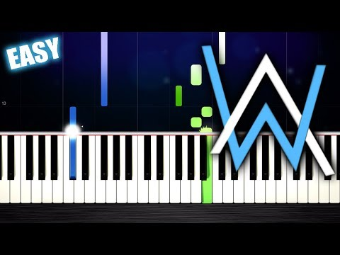 Alan Walker, K-391 & Emelie Hollow - Lily - EASY Piano Tutorial by PlutaX