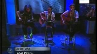 AVENTURA - ABEL PINTOS unplugged