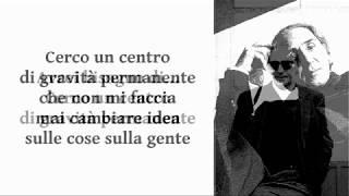 Franco Battiato - Centro di gravità permanente
