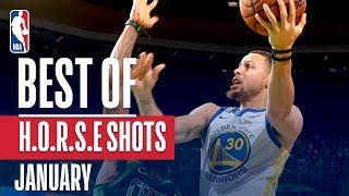 NBA's Best H.O.R.S.E. Shots | January 2018-19 NBA Season