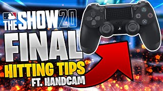 FINAL Hitting Tips for MLB the Show 20! *TOP 10 LIFETIME PLAYER*