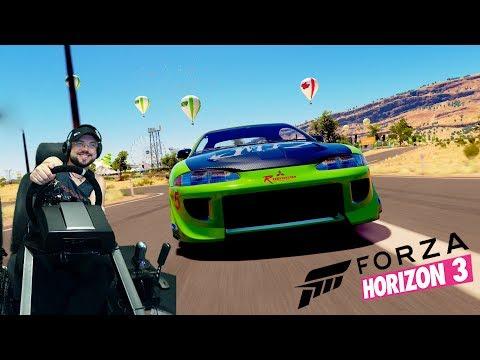 Track Day с OnePoint и подписчиками Forza Motorsport 6 на руле Fanatec CSL Elite PS4