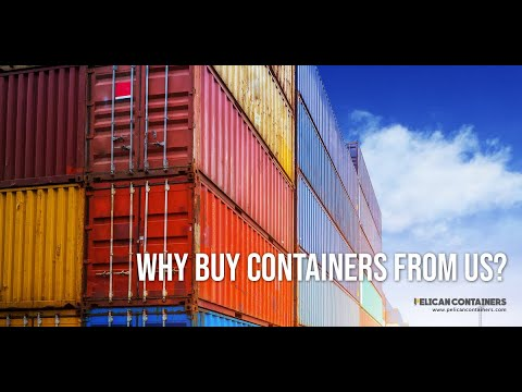 Pelican Containers : Your Shop for Quality Shipping Containers
