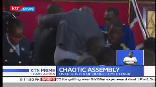 Chaos and a near fist fight once again at the Kisumu County Assembly