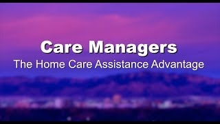Care Managers – What They Do