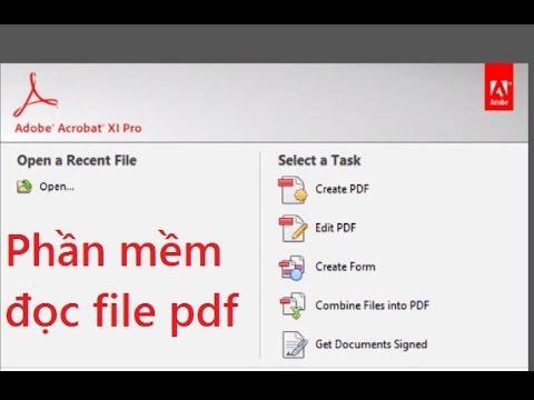 Hướng dẫn cài đặt phần mềm đọc file pdf