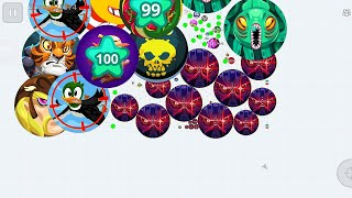 Agario Mobile Best Clips With  (Silver) And Random People GG In Agar.io