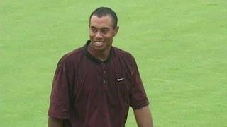 Signature Shots: Tiger Woods, 18th hole, 2000 Bell Canadian Open - dooclip.me