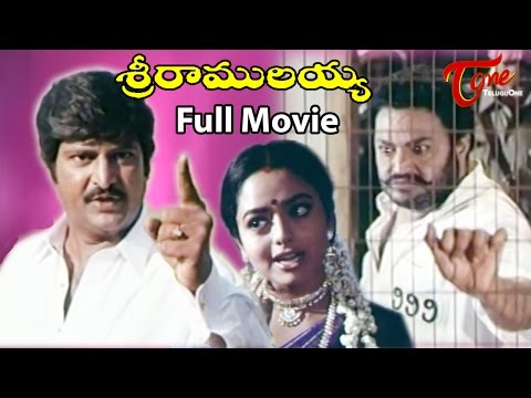 Sri Ramulayya Telugu Full Movie | Mohan Babu, Soundarya