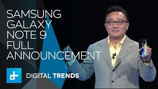 Samsung Galaxy Note 9 - Full Announcement