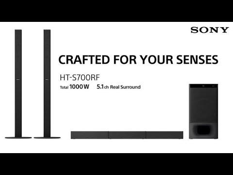 Sony HT-S700RF 1000watts Powerful 5.1 Real SURROUND SOUNDBAR SYSTEM REVIEW