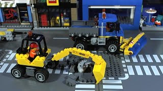LEGO CITY Sweeper Truck and Digger 60152