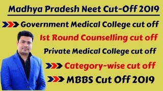 Madhya Pradesh Neet Cut Off 2019   Mp Neet Expected Cut Off 2019