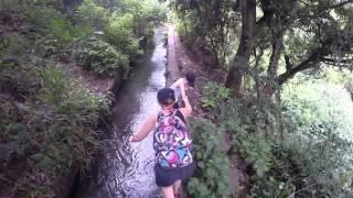 preview picture of video 'chemin vers cascades des aigrettes saint gilles les bains ile de la réunion'