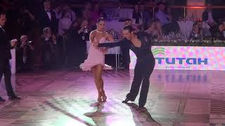 Andrey Kiselev & Ahastasiya Kiseleva  Cha-Cha Final World Cup Professional Latin