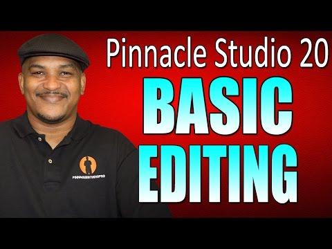 Pinnacle Studio 20 Ultimate | Basic Editing Beginners Tutorial
