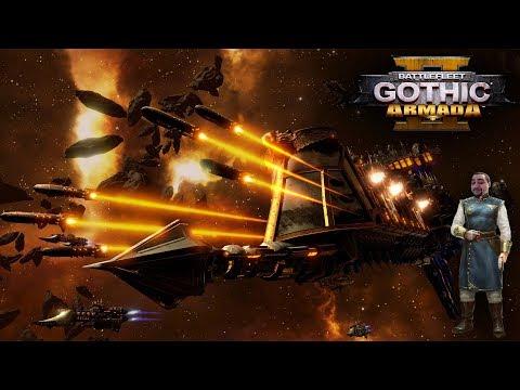 [18+] Шон играет в Battlefleet Gothic Armada 2 - стрим 16 (PC, 2019)