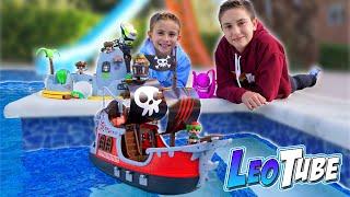 Nuevo Barco Pirata surca las aguas